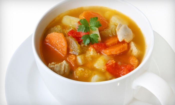 SoupsFresh - Bel Air: Two, Four, or Five Bowls of Soup at SoupFresh (50% Off)