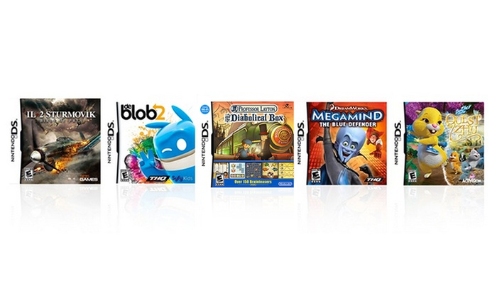 5-Game Kids Bundle for Nintendo DS: 5-Game Kids Bundle for Nintendo DS. Free Returns.