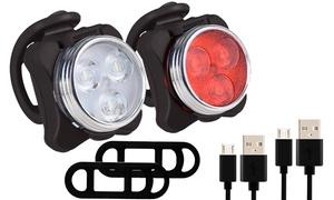 Lampe de vélo rechargeable USB
