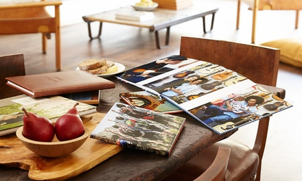 Custom 20-Page Lay-Flat Photo Book from AdoramaPix (Up to 70% Off). Two Options Available