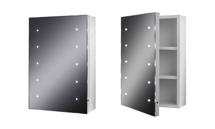 Led Battery Illuminated Cabinet