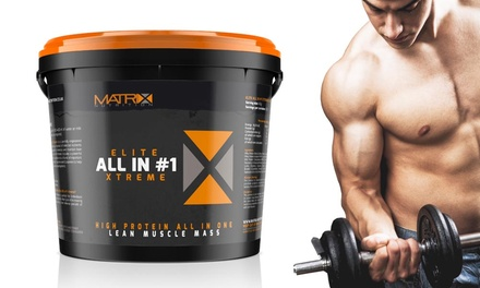 2.25kg or 4kg Matrix Elite All in One Xtreme Protein Powder