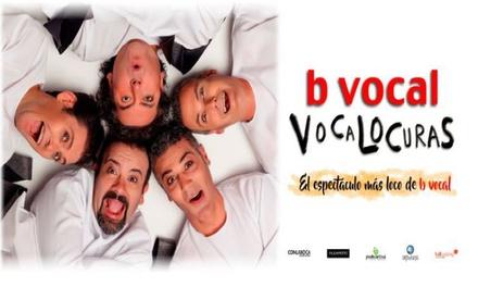 """Entrada a """"Vocalocuras'' del 21 de Febrero al 8 de Marzo en Teatro Flumen"""