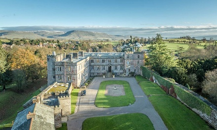 Castle Entry with Afternoon Tea for Two at Old Great Hall, Appleby Castle (33% Off)