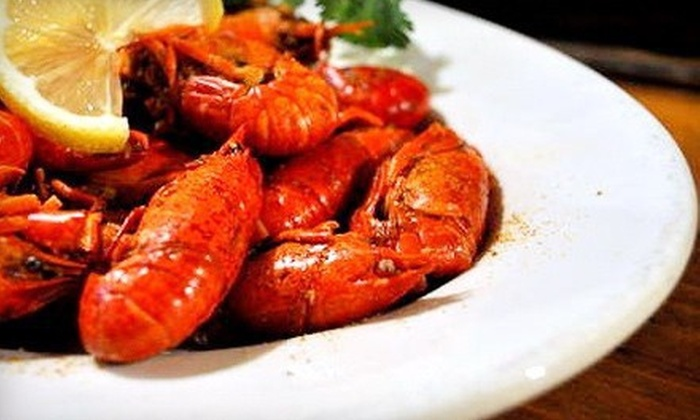 The Bayou Restaurant - The Bayou Restaurant: $20 for Two Groupons, Each Good for $20 Worth of Cajun Food at The Bayou Restaurant ($40 Total Value)