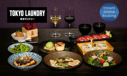 Japanese Chef's Tasting Menu + Dessert & Wine $69, 4 $138, or 8 $276 at Tokyo Laundry Up to $578 Value