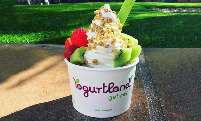 Yogurtland - Multiple Locations: $15 for Five Groupons, Each Good for $6 Worth of Frozen Yogurt at Yogurtland ($30 Value)