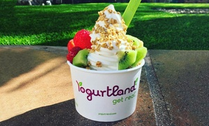 Yogurtland: $15 for Five Groupons, Each Good for $6 Worth of Frozen Yogurt at Yogurtland ($30 Value)
