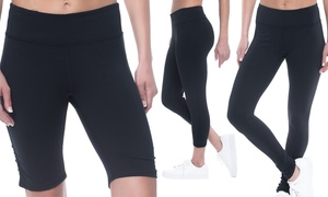 Gaiam Women's Leggings, Capris, or Yoga Shorts