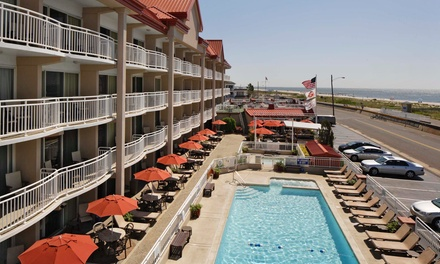 Stay at Montreal Beach Resort in Cape May, NJ. Dates into November.