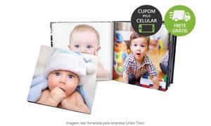 Uniko Tecn: Uniko: Photobook Bebê com 46 páginas