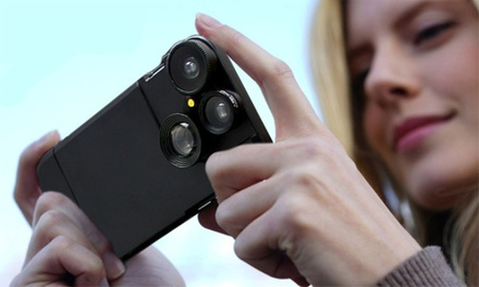$19.95 for a Four in One iPhone Lens Case Kit