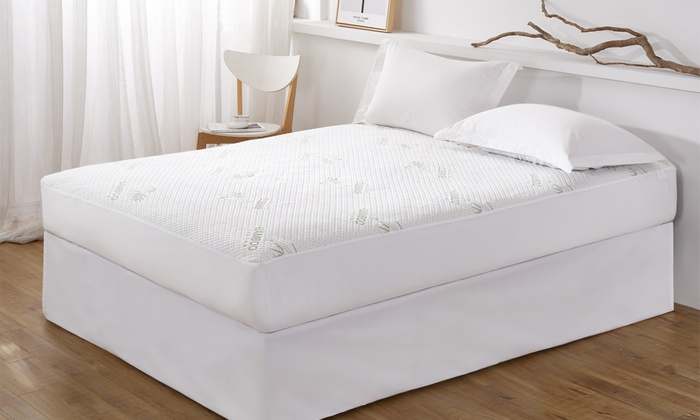 Up To 22 Off On Bamboo Mattress Protector Groupon Goods