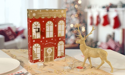 One, Two or Four Wax Lyrical Christmas Fragrance Advent Houses