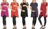 Lyss Loo Women's Maternity T-Shirt Tunic: Lyss Loo Women's Maternity T-Shirt Tunic
