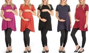 Lyss Loo Women's Maternity T-Shirt Tunic