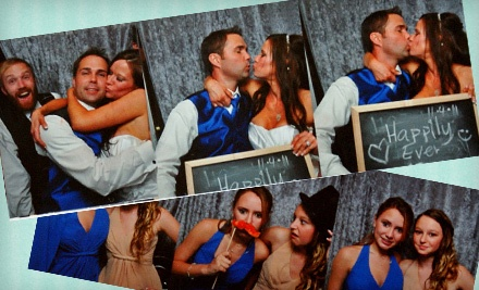 Three- or Four-Hour Photo-Booth Rental Package from Events & Occasions STL (Up to 61% Off)
