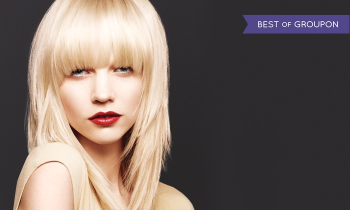 Envy Salon and Spa - Airdrie: Haircut with Optional Highlights or Single-Process Colour at Envy Salon and Spa (Up to 67% Off)