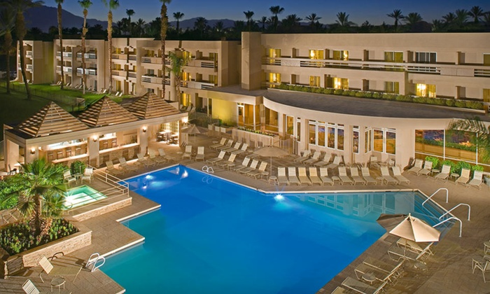 Indian Wells Resort Hotel - Indian Wells, CA: One- or Two-Night Stay with Welcome Drinks and Breakfast at Indian Wells Resort Hotel in Greater Palm Springs, CA