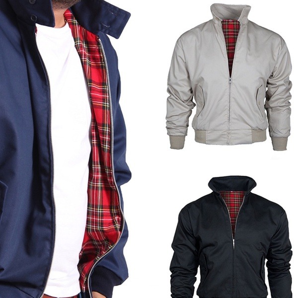 5f0c7a7e7 Men's Vintage-Style Harrington Jacket in Choice of Colour for £22.99 (54%  Off)