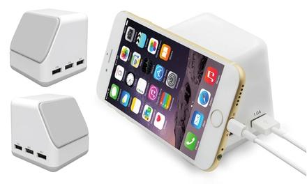 Six-Port Magnetic USB Charging Hub