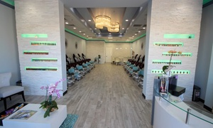 Nails Unlimited: Shellac Mani-Pedi or One or Two Classic Mani-Pedis at Nails Unlimited (Up to 59% Off)