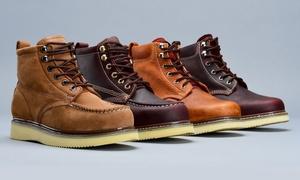 Goodyear Welt Men's Contractor Work Boots