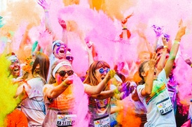 The Color Run: The Color Run™ on 8th July at Wembley Park (Up to 25% Off)