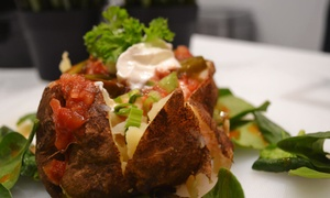 Russet Shack: Speciality Potatoes with Toppings and Drinks for Two or Four at Russet Shack (47% Off)