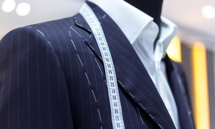 Tailor Made Suit, Trousers, Two Shirts and Pair of Cufflinks from Square Gems General Trading (Up to 75% Off)