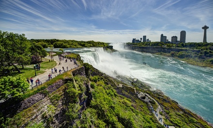 Stay w/ Activities and Dining Vouchers at Ramada by Wyndham Niagara Falls Fallsview in Ontario; Dates into January 2019