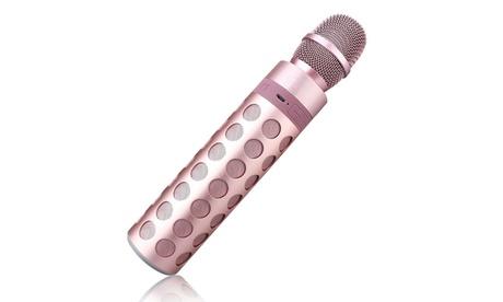 Microfono Bluetooth senza fili con altoparlante incorporato