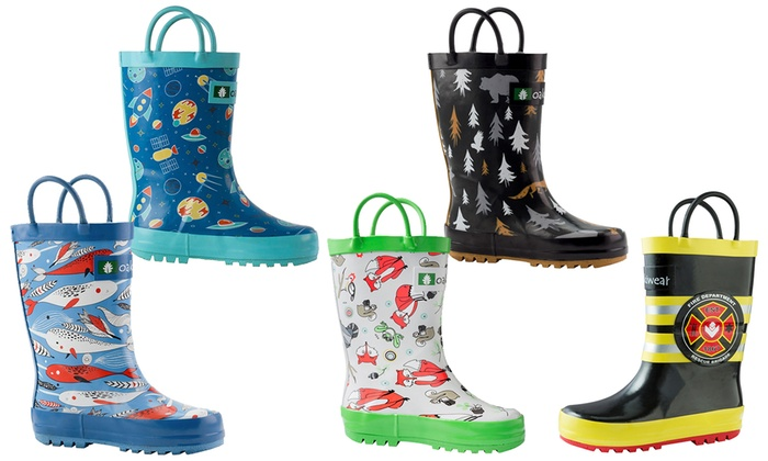 Up To 12% Off on Kids Rain Boots | Groupon Goods