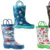 Oaki Kids Rubber Rain Boots - Boys