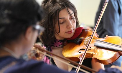 image for Up to Five One-Hour One-to-One Violin Lessons, or One Three-Hour Group Violin Lesson from ViolinSchool (Up to 57% Off)