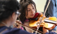 Up to Five One-Hour One-to-One Violin Lessons, or One Three-Hour Group Violin Lesson from ViolinSchool (Up to 57% Off)