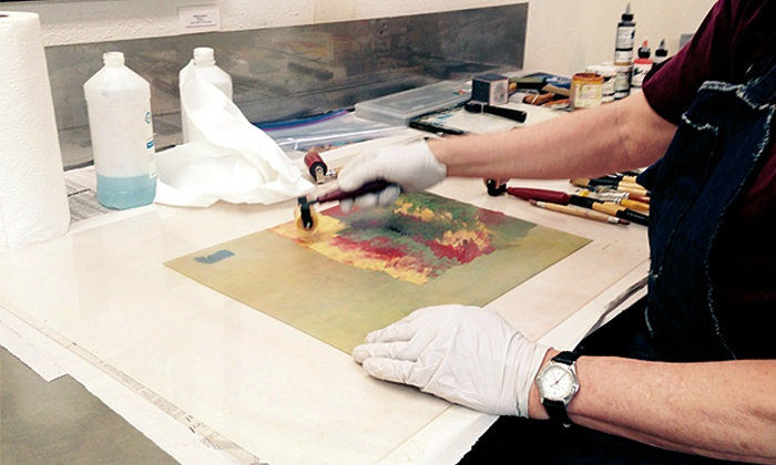 New Grounds Print Workshop & Gallery - Nob Hill: $199 for Two-Day Printmaking Workshop with Studio & Press Access at New Grounds Print Workshop & Gallery ($400 Value)