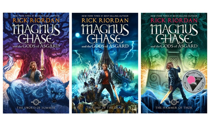 Magnus Chase And The Gods Of Asgard Books