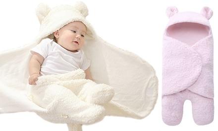 Nids d'ange et couverture thermique douce 2 en 1 pour bébé