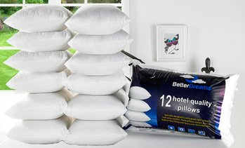 Better Dreams 12-Pack of Pillows