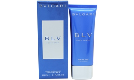 Bvlgari BLV Aftershave Balm 100ml for £15.98 (57% Off)