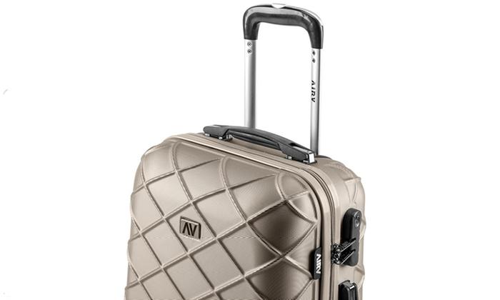 valise cabine et vanity abs air v groupon shopping. Black Bedroom Furniture Sets. Home Design Ideas