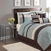 Berkley Pieced 7-Piece Comforter Set