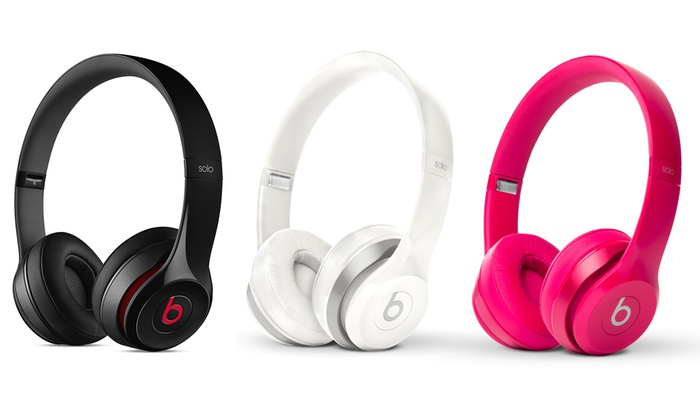 Up To 30% Off on Beats by Dre Solo2 Headphones | Groupon Goods