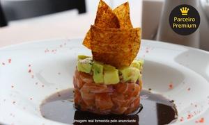 Kanpai – Lagoa da Conceição: Kanpai – Lagoa da Conceição: Menu Experience com entrada, prato principal e sobremesa para 2 ou 4 pessoas