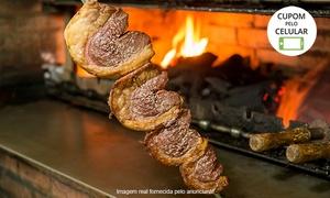 Churrascaria e Pizzaria Império Gaúcho: Império Gaúcho - Vila Modesto: rodízio de carnes + buffet liberado para 1, 2 ou 4 pessoas