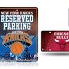 NBA Metal Auto Tag and Parking Sign Set (2-Piece)