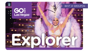 Smart Destinations: Go Las Vegas Card Multi–Attraction Pass with Admission to 3 or 5 Attractions from Choice of Many Options