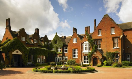 Norfolk: OneNight Stay for Two with Breakfast, Wine and Option for Dinner at 4* Sprowston Manor Hotel & Country Club