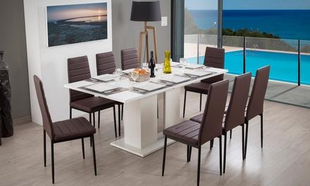 Table de repas extensible Kula avec ou sans chaises